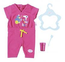 Zapf Creation Baby Born 823590 Pyžamko s kefkou na zuby