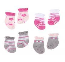 Zapf Creation 794609 Baby Annabell Ponožky 2 páry