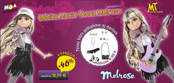 Bábika Moxie Teenz Melrose s parochňou