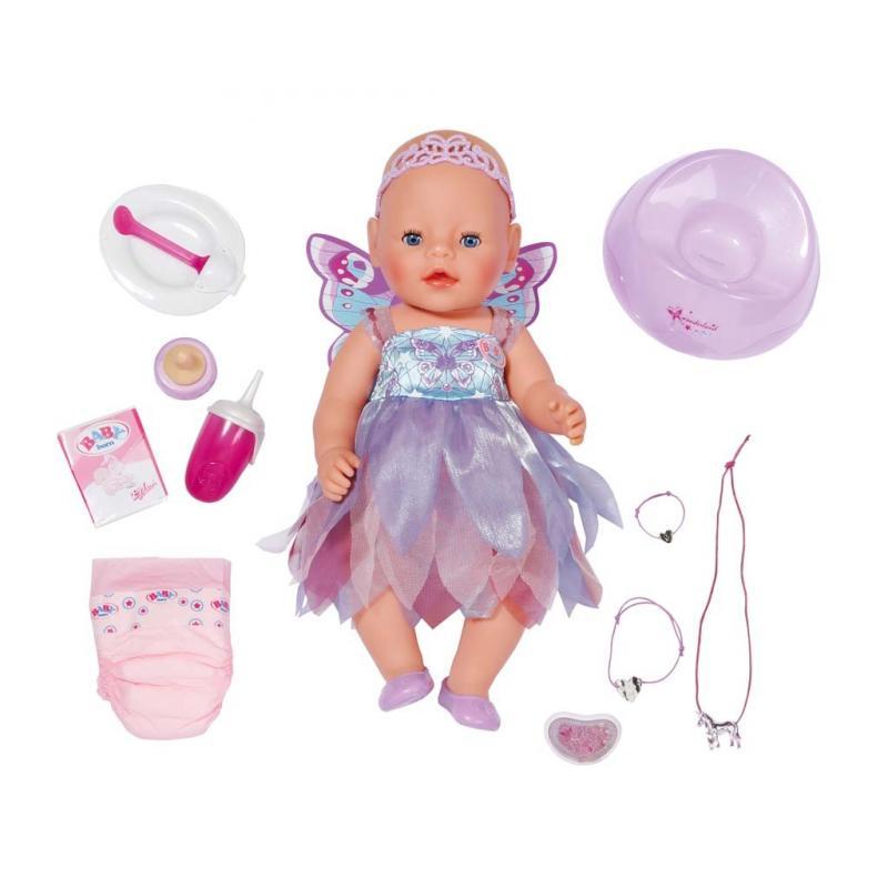 Zapf Creation Baby Born 820698 - Bábika interaktívna z ríše divov