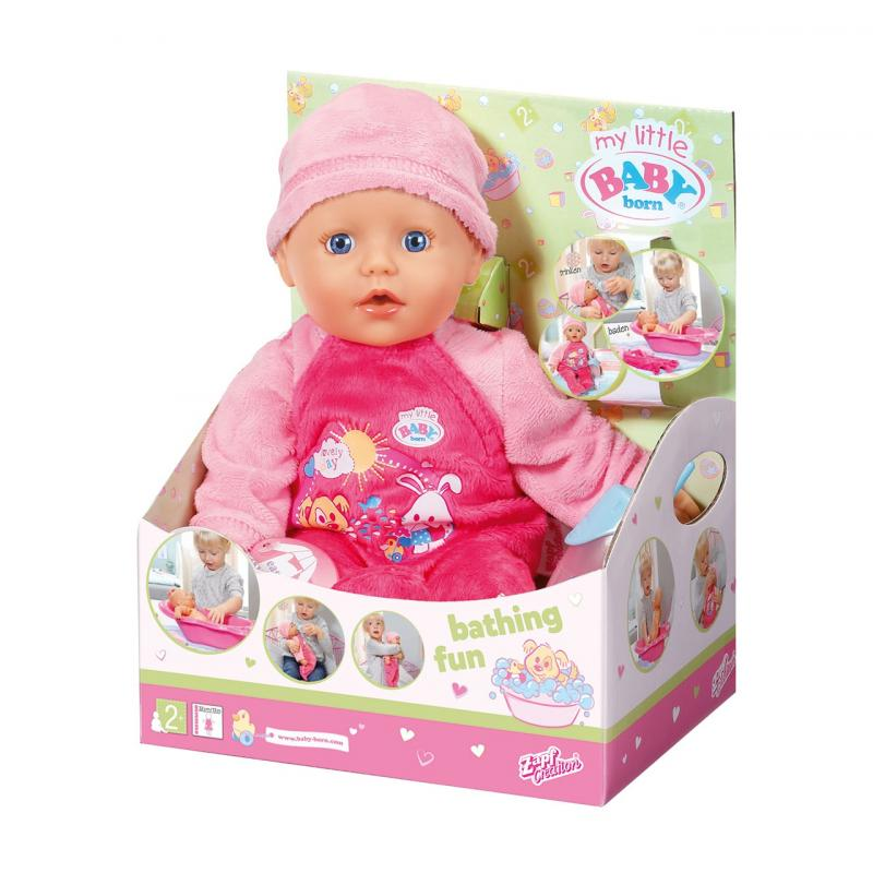 Zapf Creation My little BABY Born 822500 Kúpacia bábika