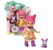 Zapf Creation mini Chou Chou 920169 - Mini bábika lištička Judy