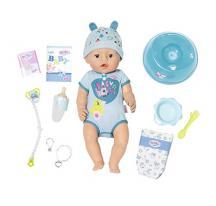 Zapf Creation BABY born 824375 Interaktívna bábika chlapec 43 cm