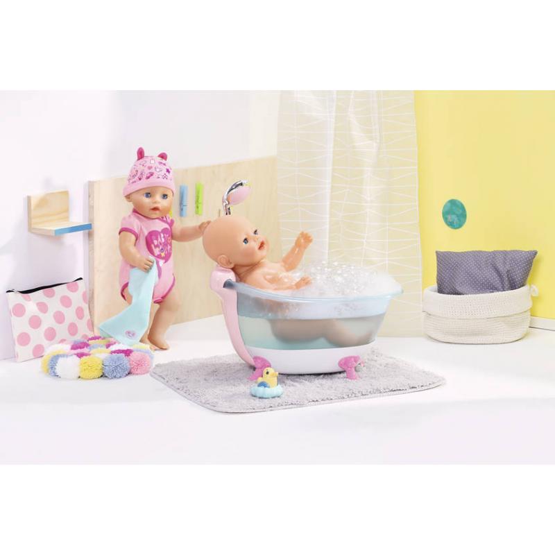 Zapf creation 824610 BABY born ® Interaktívna vaňa so svetelnými a zvukovými efektmi