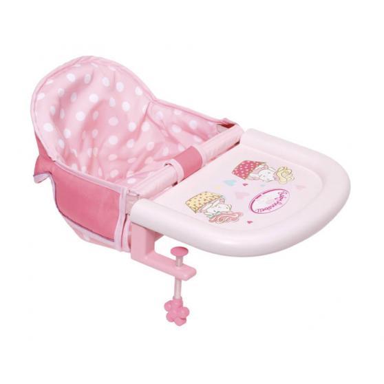 Zapf creation 701126 Baby Annabell ® Jedálenská stolička s uchytením na stôl
