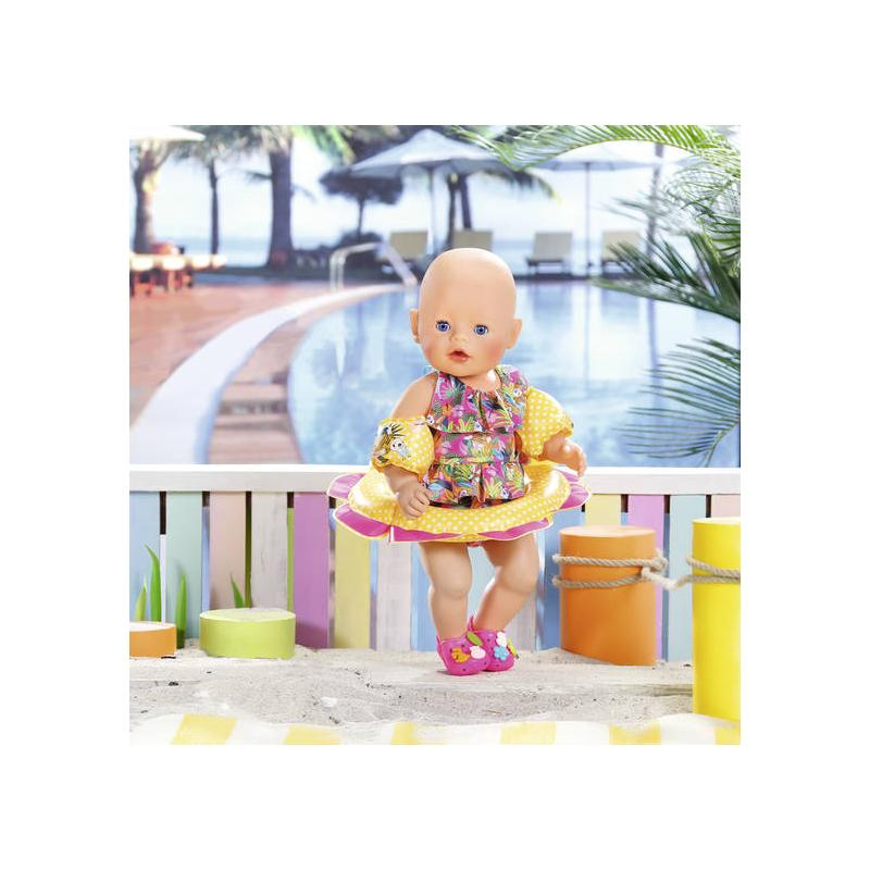 Zapf Creation 825891 BABY born Súprava na plávanie 43 cm