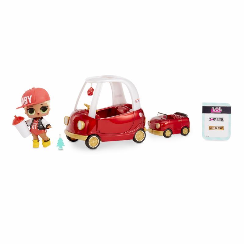 L.O.L. Surprise Nábytok s bábikou Swag s autom