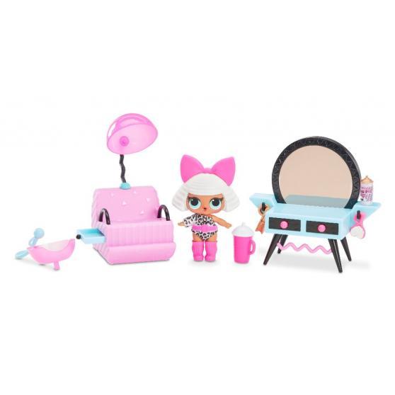 L.O.L. Surprise Nábytok s bábikou Diva so salónom krásy