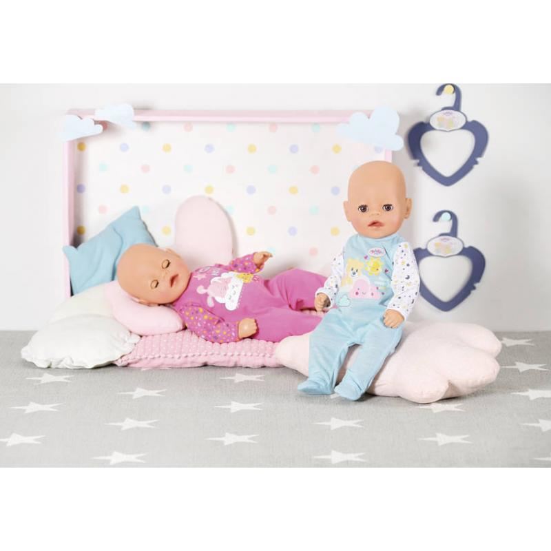 Zapf creation 826812 BABY born Little Overal na spanie 2 druhy 36 cm