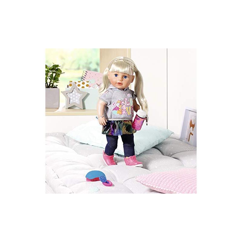 Zapf creation BABY born Staršia sestrička Soft Touch blondínka 43 cm
