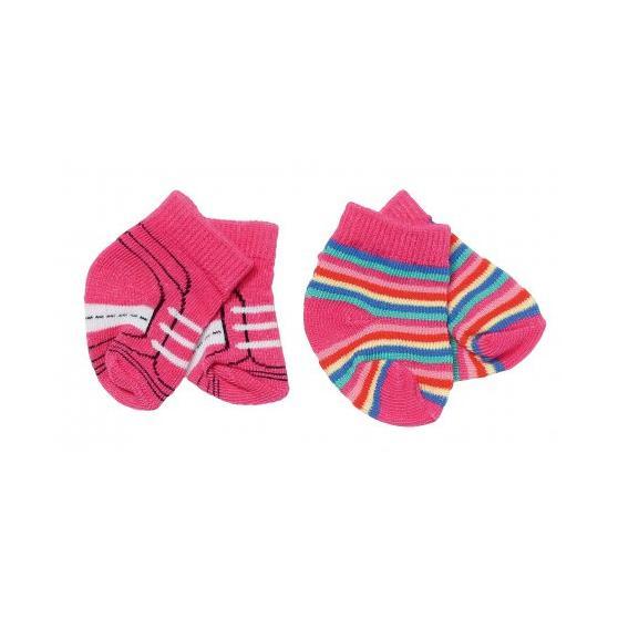 Zapf creation 827017 BABY born ® Ponožky 2 páry 43 cm