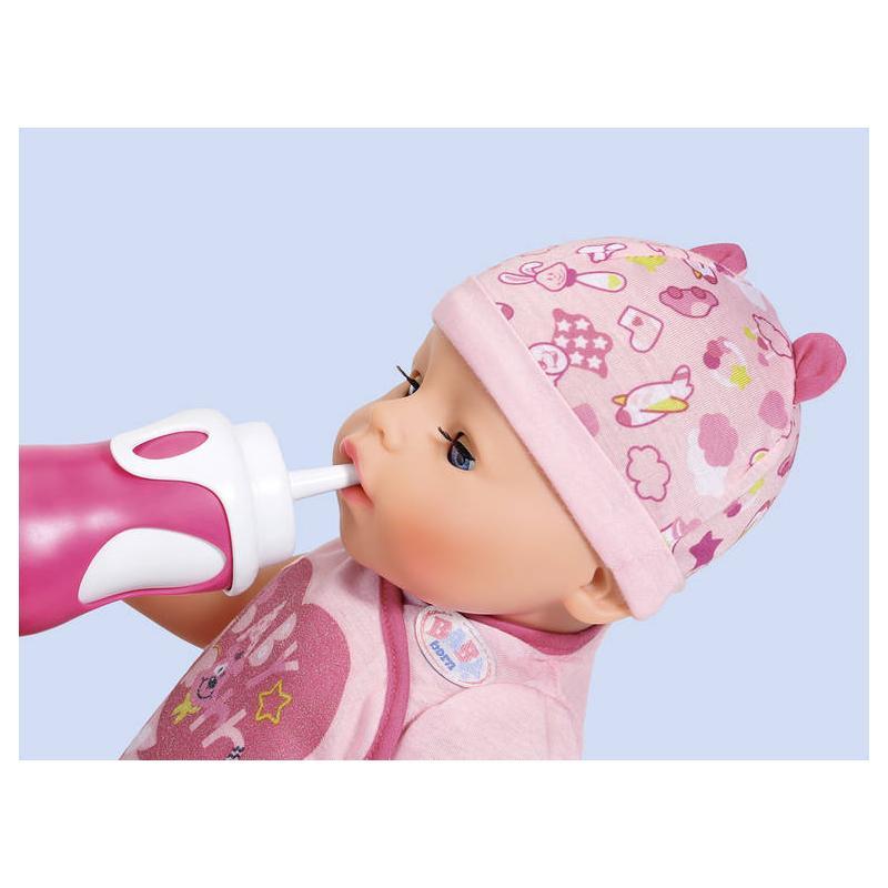 Zapf creation 826898 BABY born Interaktívna fľaštička a lyžička