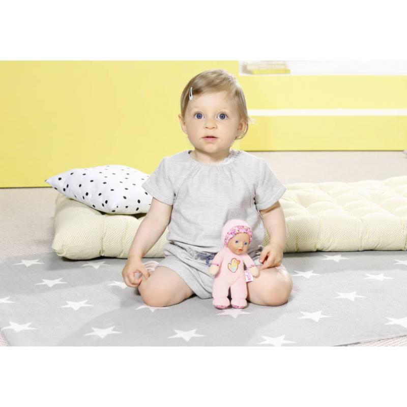 Zapf creation 827475 BABY born for babies Maznáčik plyšová bábika 18 cm