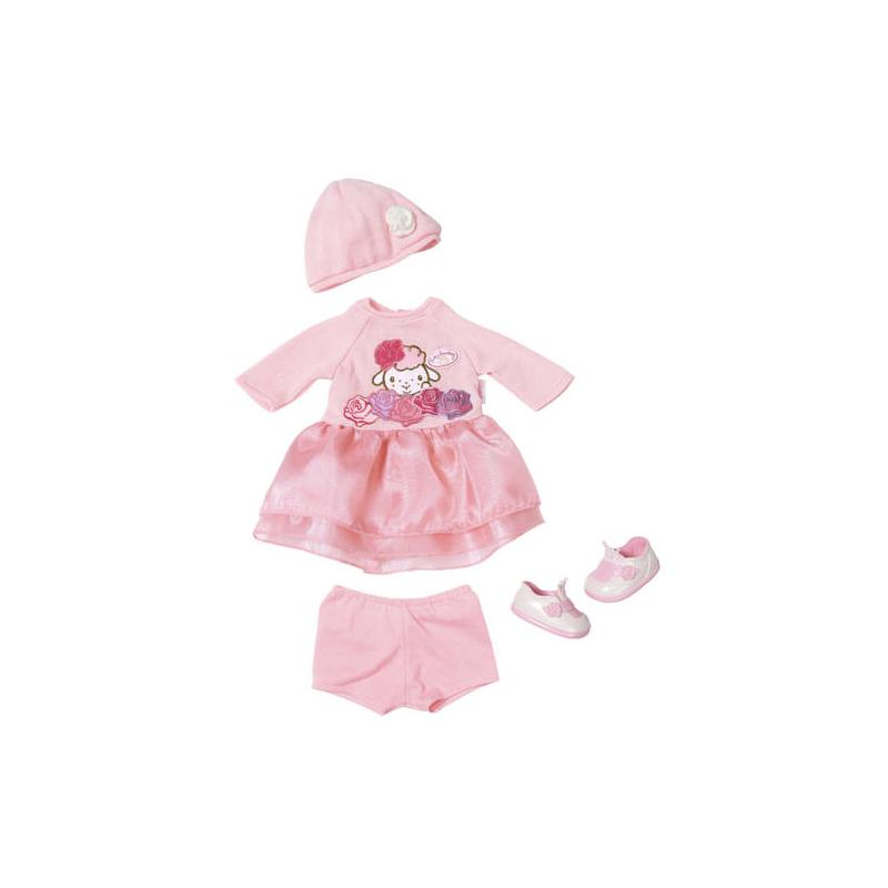 Zapf creation 701966 Baby Annabell Pletená súprava Deluxe 43 cm