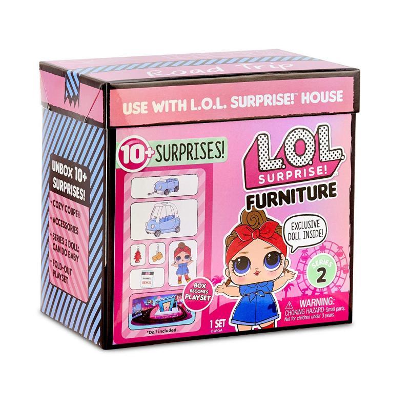 L.O.L. Surprise Nábytok s bábikou Can Do baby cestný výlet