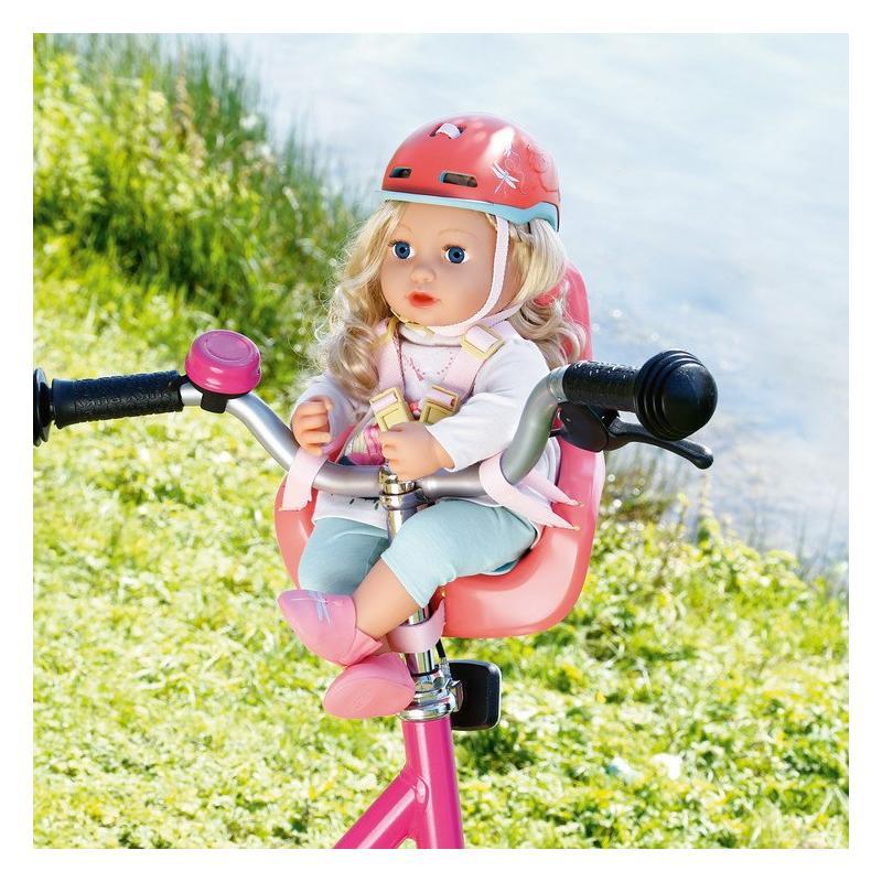 Zapf creation 703335 Baby Annabell Sedačka na bicykel 43 cm