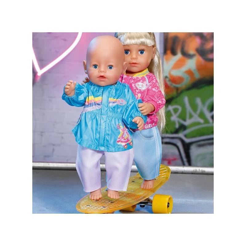 Zapf Creation BABY born Staršia sestrička 828212 Bunda a nohavice 43 cm