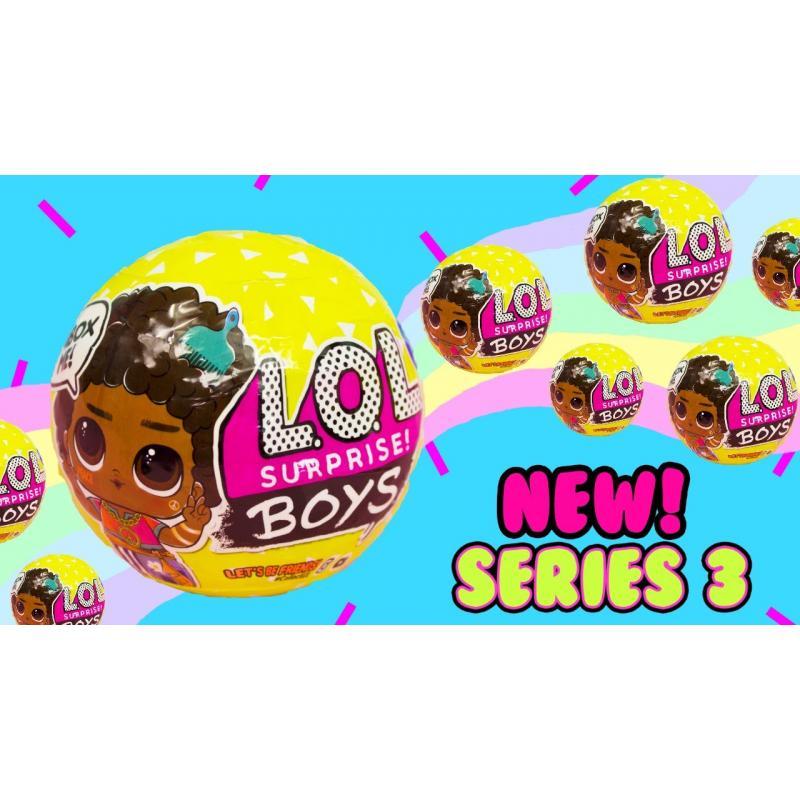 L.O.L. Surprise Bábika Chlapec séria 3