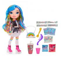 Rainbow Surprise Dúhová bábika, 2 druhy (fialová alebo modrá)