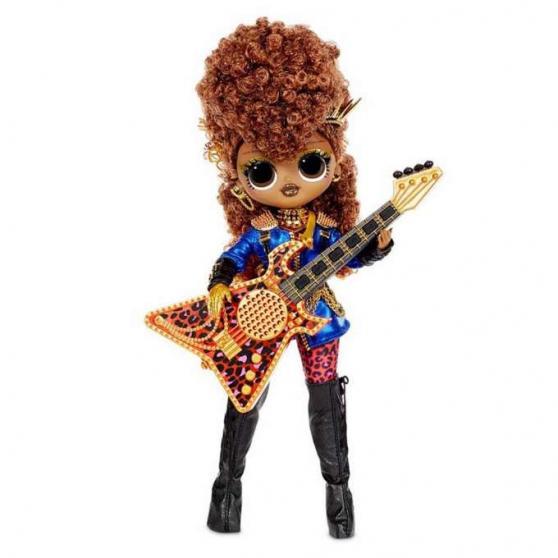 L.O.L. Surprise OMG ReMix Rock Veľká sestra Ferocious s gitarou