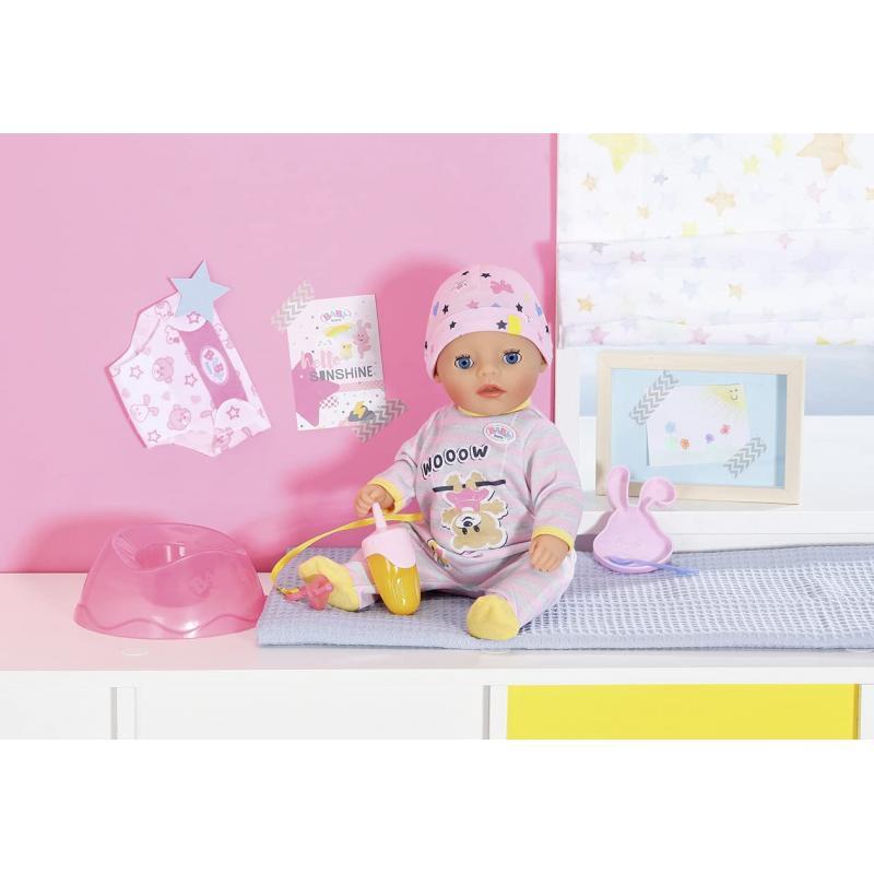 Zapf Creation 831960 Baby Born Soft Touch Little Dievčatko 36 cm so 7 živými funkciami a príslušenstvom