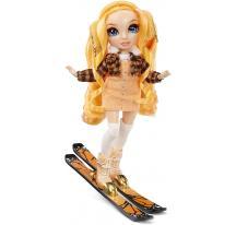 Rainbow High Zimná fashion bábika Poppy Rowan