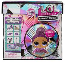 L.O.L. Surprise Zimný nábytok - Zimná chladiaca spálňa s bábikou Bling Queen