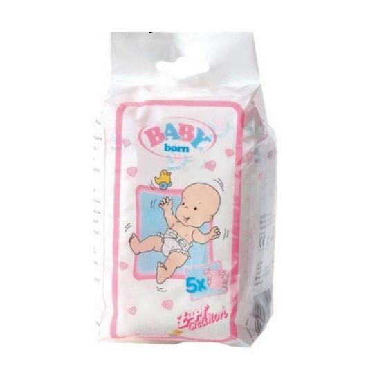 Zapf Creation Baby Born 815816 - Plienky 5 ks